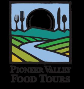 pioneer valley food tours logo